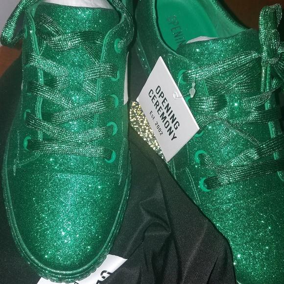 La Cienega Glitter Sneaker